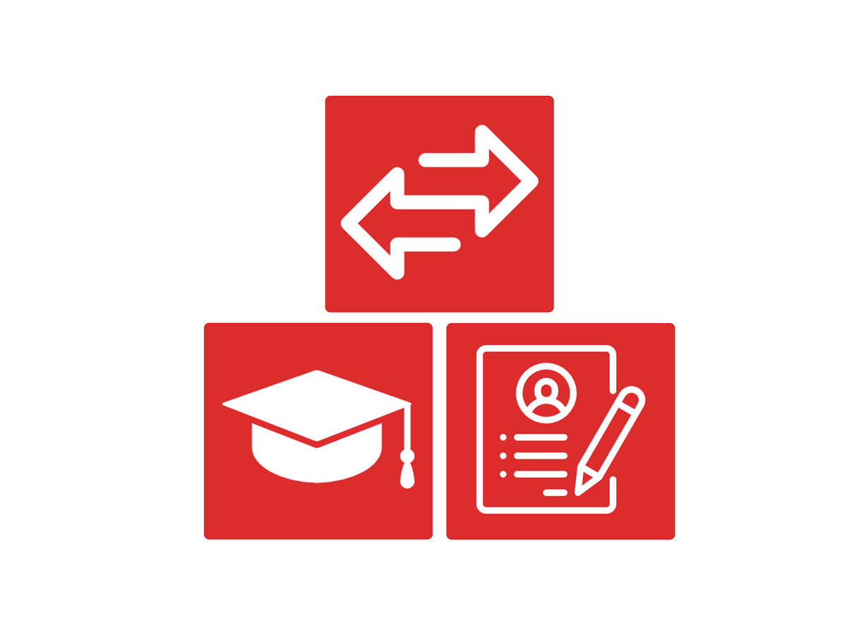 transferable skills, placing your education high, and highlighting relevant course work/internships on your simple resume after graduating